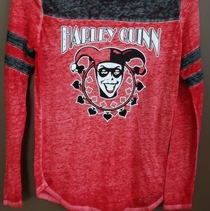 Harley Quinn sz M soft long sleeve